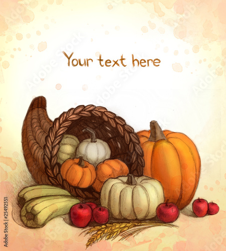 Thanksgiving background