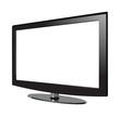 TV isometric empty screen