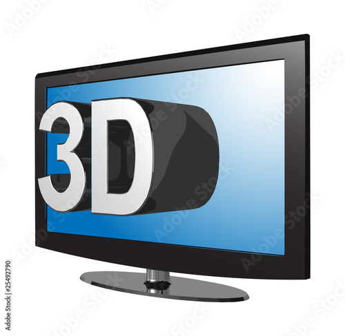 3D TV isometric