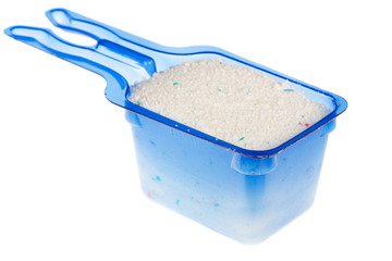 measuring bowl with washing powder