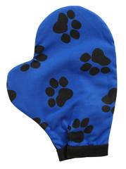 Dog glove. Isolated
