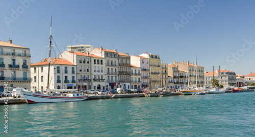 Sete Harbor in Southern France - 25498345