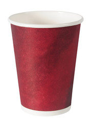 Empty coffee cup. Isolated