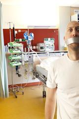 help the patient