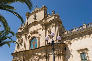 Particolare Chiesa Carmine di Scicli