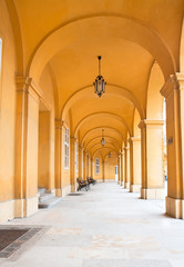 Passage of Castle Schoenbrunn in Vienna