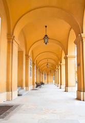 Passage of Castle Schoenbrunn in Vienna
