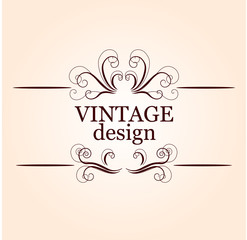 Ornate design element
