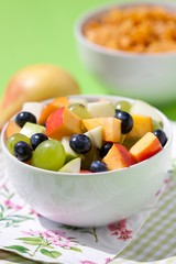 healthy fresh fruits salad