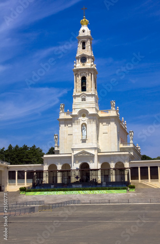 Sanctuary of Fátima, famous religious place in the center of Por