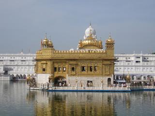 Golden temple in Amritsar - Sri Harimandir Sahib. India