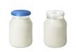 Leinwandbild Motiv Joghurt
