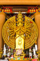 The thousand Hands Buddha Statue