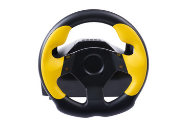 wheel for computer on white