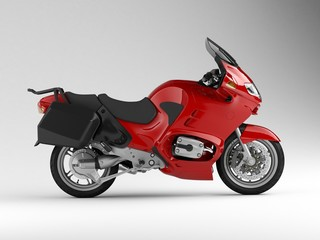 motorcycle side 3d