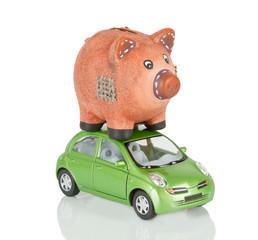 Pig & Car