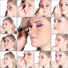collage makeup