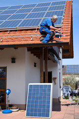 New solar for one family-house