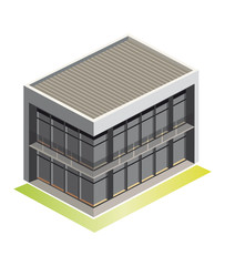 House / Vector Illustration / Isometric