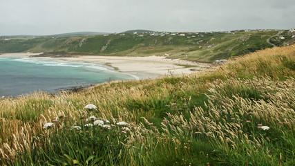 Strand Sennen im Cornwall Südwestengland