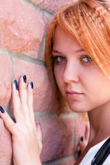 Pretty young woman in sorrow