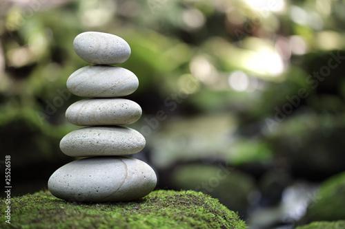 Leinwanddruck Bild Balance and harmony in nature