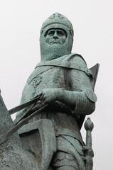Statue of Robert the Bruce, Bannockburn, Scotland