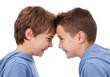 Kraftprobe zwischen Zwillingen