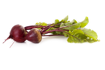 beetroot isolated on white background