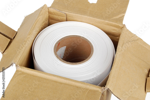 roll paper in box