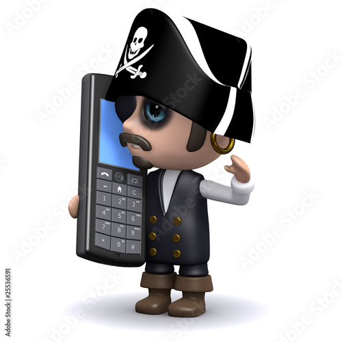 Mobile pirate