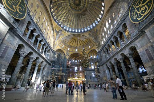 Hagia Sophia (Interior) Istanbul, Turkey
