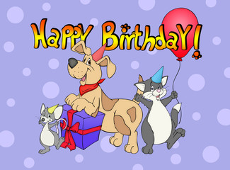 Geburtstag, Geburtstagskarte, Kindergeburtstag