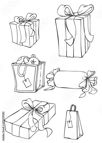 geschenke geschenk weihnachtsgeschenke stockfotos und. Black Bedroom Furniture Sets. Home Design Ideas
