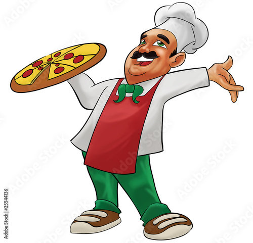 happy pizzaiolo - 25544136
