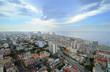 Cityscape of Havana. skyline of Vedado buildings