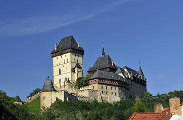 Burg Karlstein (Tschechien), Castle Karlstejn (Czech Republic)