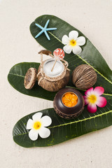Thai coconut lotion set
