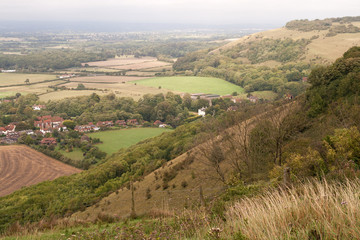 View from Devil's Dyke, Sussex