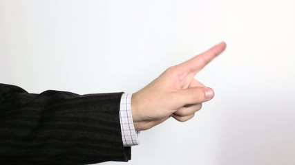 """Hand signs  """"Don't do this""""(banning) and cut"""