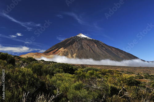 Teide volcano from far