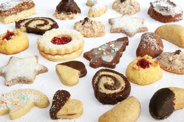 Bunte Weihnachtsplätzchen II - Xmas Cookies II