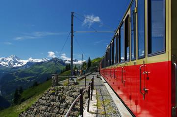 rote Bergbahn