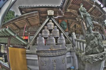 お寺の境内