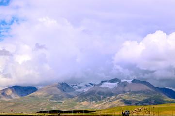Tibetan snow