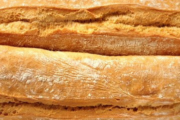 Baguettes, close up