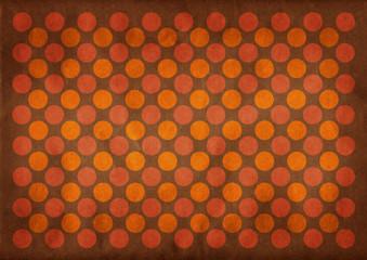 Dark circles retro pattern background