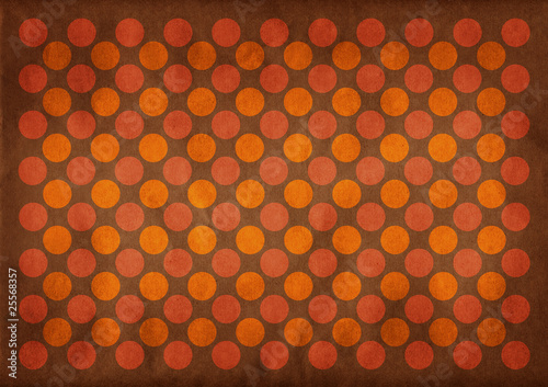 Dark circles retro pattern background