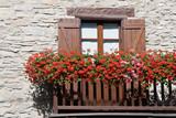 balkon s květinami - balcone Fiorito