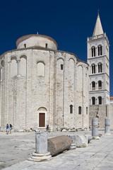 Zadar cityscape.